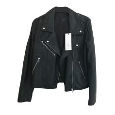 Leather Zipped Jacket Ikks