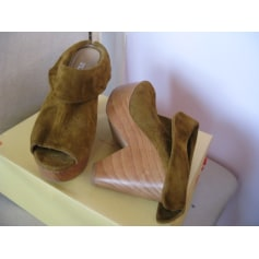 Bottines & low boots à talons Flavio  pas cher