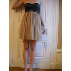 Robe bustier   pas cher