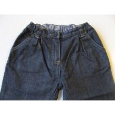 Jeans large, boyfriend Petit Bateau  pas cher