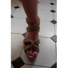 Sandales à talons Nannini  pas cher