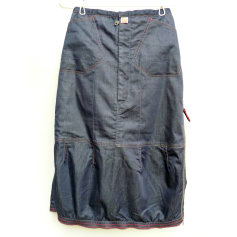 Denim Skirt Marithé et François Girbaud