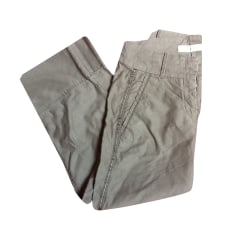 Pantalon droit Marithé et François Girbaud  pas cher