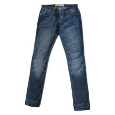 Pantalon slim, cigarette Abercrombie & Fitch  pas cher
