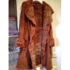 Manteau en fourrure Derhy  pas cher