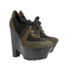 Bottines & low boots à compensés Burberry  pas cher
