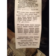 Pantalon droit Elisa Cavaletti  pas cher