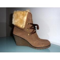 Bottines & low boots à compensés Les Tropéziennes Par M. Belarbi  pas cher