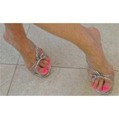 Sandales à talons René Caovilla  pas cher