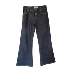 Jeans large, boyfriend John Galliano  pas cher
