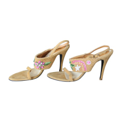 Sandales Versace  pas cher