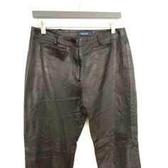 Pantalon droit Arthur & Fox  pas cher