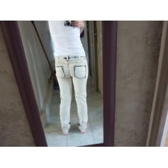 Jeans droit Stephanel  pas cher