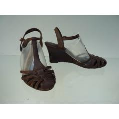 Sandales compensées Timberland  pas cher