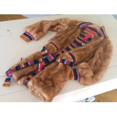 Manteau en fourrure John Galliano  pas cher