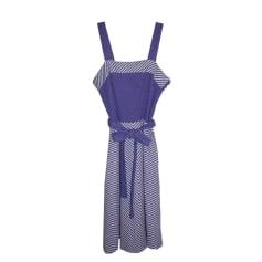 Robe mi-longue no brand vintage  pas cher