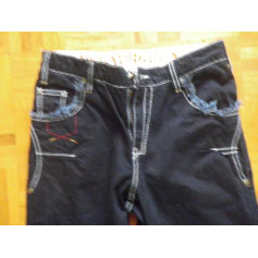 Jeans droit DKNY  pas cher