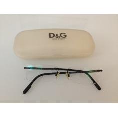 Monture de lunettes D&G  pas cher