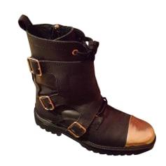Bottines & low boots motards Zadig & Voltaire  pas cher