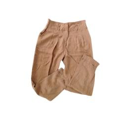 Pantalon carotte Sandro  pas cher