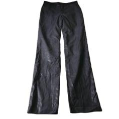 Pantalon droit Agnès B.  pas cher