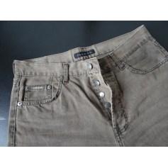 Pantalon droit Chevignon  pas cher