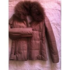 Manteau en cuir K-Yen  pas cher