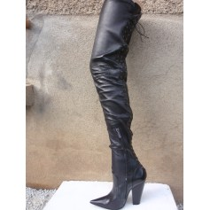 Bottes cuissards Givenchy  pas cher