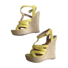 Sandales compensées Carvela  pas cher