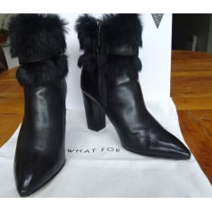 Bottines & low boots à talons What For  pas cher