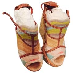 Sandales compensées Missoni  pas cher