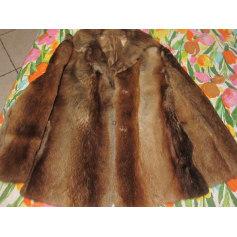 Blouson, veste en fourrure 100% Vintage  pas cher