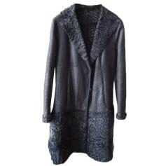 Manteau en cuir Fendi  pas cher