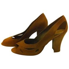 Escarpins à bouts ouverts Mellow Yellow  pas cher