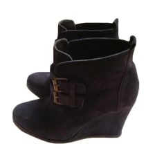 Bottines & low boots à compensés Tila March  pas cher