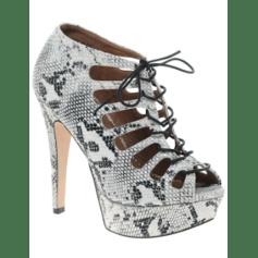 Bottines & low boots à compensés New Look  pas cher