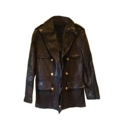 Manteau en cuir Chevignon  pas cher