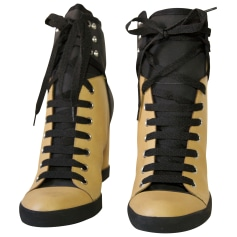 Bottines & low boots à compensés See By Chloe  pas cher