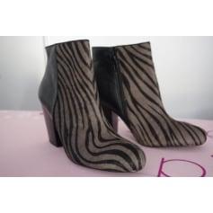 Bottines & low boots à talons Belmondo  pas cher