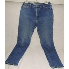 Jeans droit republic aviation  pas cher