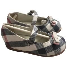 Chaussures à boucle Burberry  pas cher