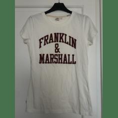 Top, tee-shirt Franklin & Marshall  pas cher