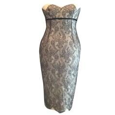Robe mi-longue Dolce & Gabbana  pas cher