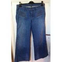 Jeans très evasé, patte d'éléphant Bel Air  pas cher