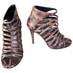 Escarpins à bouts ouverts DKNY  pas cher