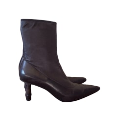 High Heel Ankle Boots Gucci