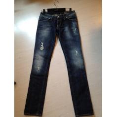 Jeans slim FreeSoul  pas cher