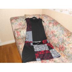 Robe mi-longue La Halle Aux Vêtements  pas cher