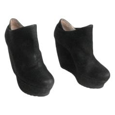 Bottines & low boots à compensés Pura Lopez  pas cher