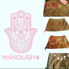 Jupe courte Manoush  pas cher
